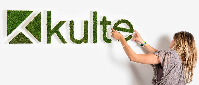 Concept logo végétal