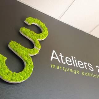 Logo vegetal Atelier 23