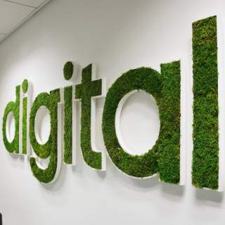 Logo vegetal Digital
