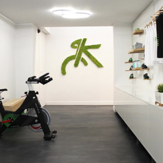 Logo vegetal Bike sport