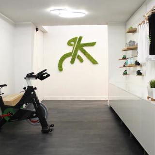 Logo vegetal Bike sport