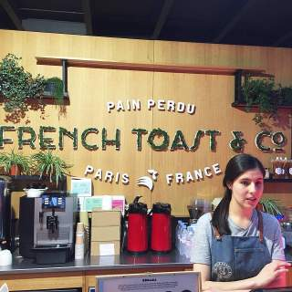 Logo vegetal French toast