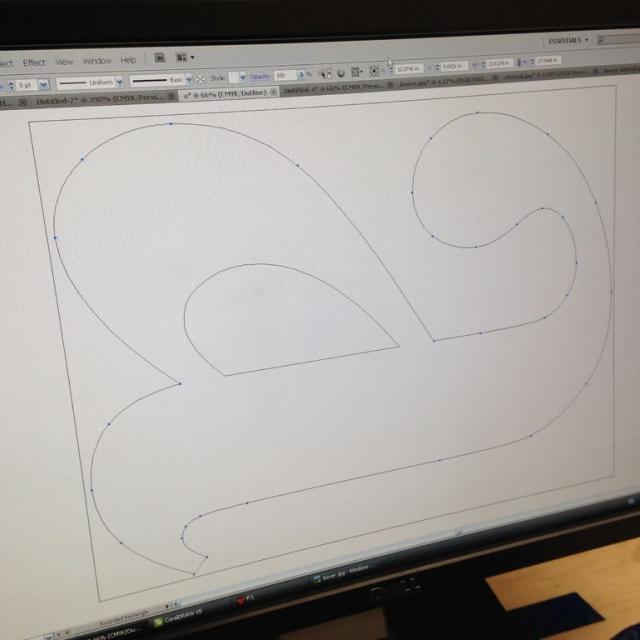 Atelier logo végétal lettres relief 3D - 8