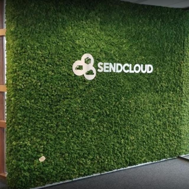 mur végétal stabilisé avec logo - 8